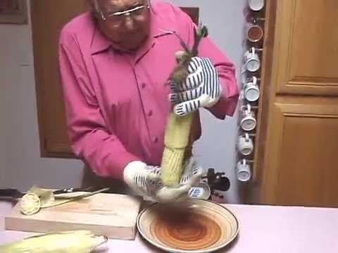 Super easy way to cook corn