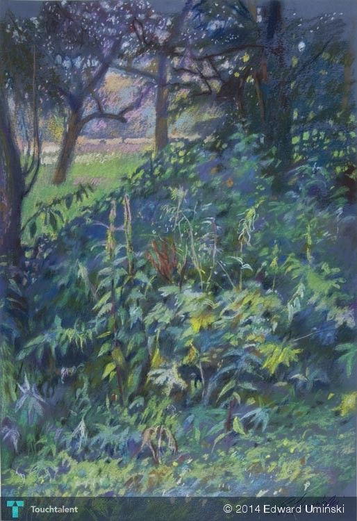 Południe w Inwałdzie | 46 x 69 cm | sucha pastela