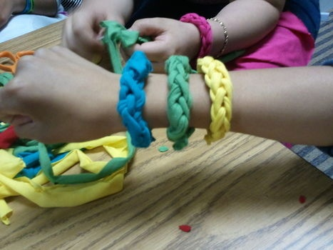 : Jersey Bangles, Projects, Fingers Knits, Diy Jewelry