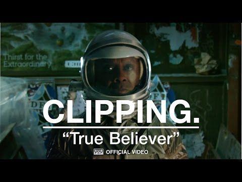 DE ALTERNATIEVE MUZIEKMAN: Clipping. - True Believer [OFFICIAL VIDEO]