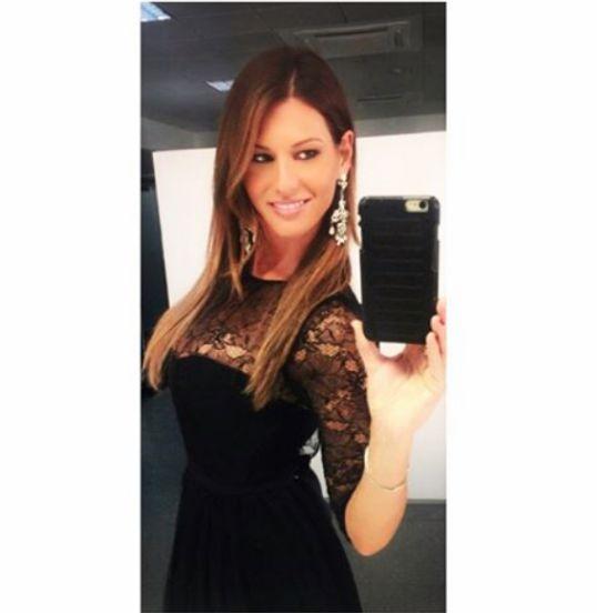 """Barbara Pedrotti wearing Mangano dress """"Thirtyseven"""" http://shop.mangano.com/en/410-dresses"""