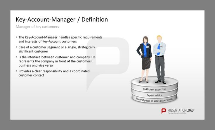 Key-Account Management for PowerPoint. The Key-Account-Manager ...