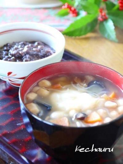 元旦のお雑煮 会津の郷土料理『こづゆ』で♪ by Yoshikoさん | レシピ ...