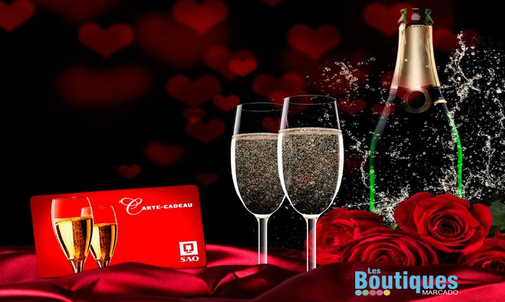 Gagnez 50 $ en certificats cadeaux à la SAQ avec les Boutiques Marcado pour célébrer la Saint-Valentin !