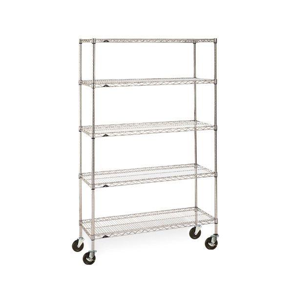Chrome rack (5 shelves)