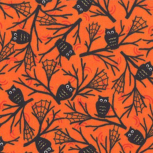 Owl Halloween Fabric #Owl #Halloween #Fabric