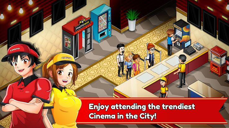 Cinema Panic 2: Cooking Quest v2.1 [Mod]Requirements: 4.0.3 and upOverview: Enjoy attending the trendiest Cinema in the City!     ACHIEVE SUCCESS SERVING CUSTOMERS Attend cinema customers waiting in line before watching a movie to enjoy the most delicious popcorn, hot dogs, sodas,...