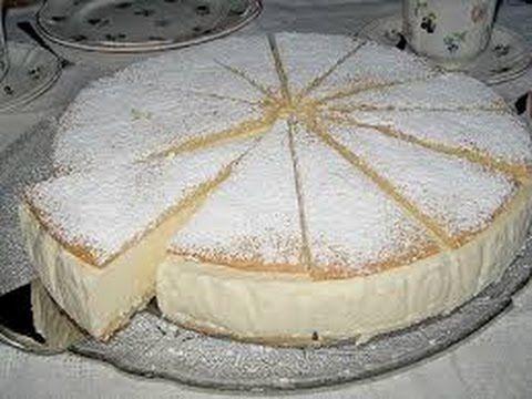 Kuchen ohne Backen Käse Sahne Torte - YouTube
