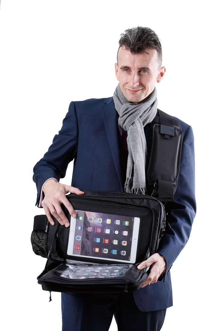 Tablet Smartphone Laptop Bag for Jehovah's Witness Ministry Service / Meeting - Made to easy display JW videos.