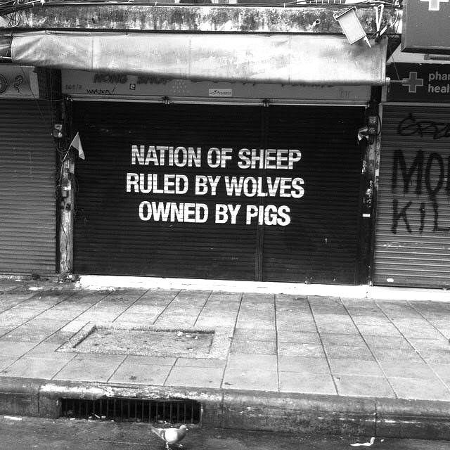 Shop front khao sahn road bangkok 2014 streetart