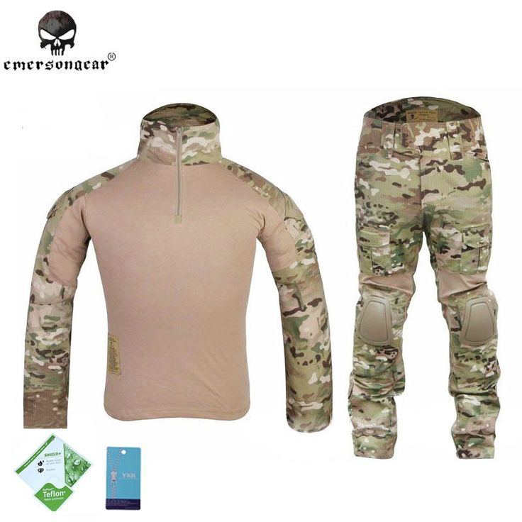 105.91$  Buy here - http://ali4e0.worldwells.pw/go.php?t=32719921317 - Emerson Multi-cam Gen2 Tactical Combat BDU Shirt & Pants & pads Airsoft Uniform Military Camouflage Hunting Ghillie Suit EM2725 105.91$