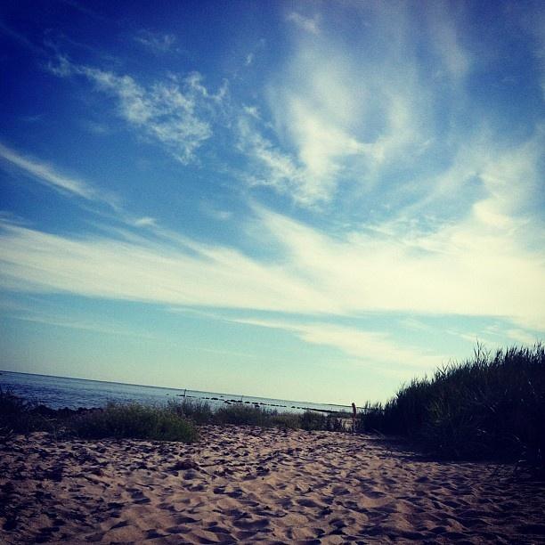 Beach at southern Gotland.