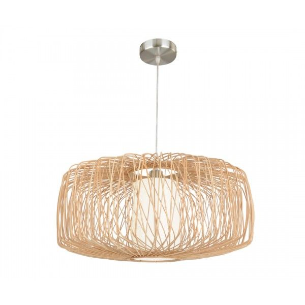 Florida 580mm Wicker Pendant in Natural | Pendant Lights | Lighting