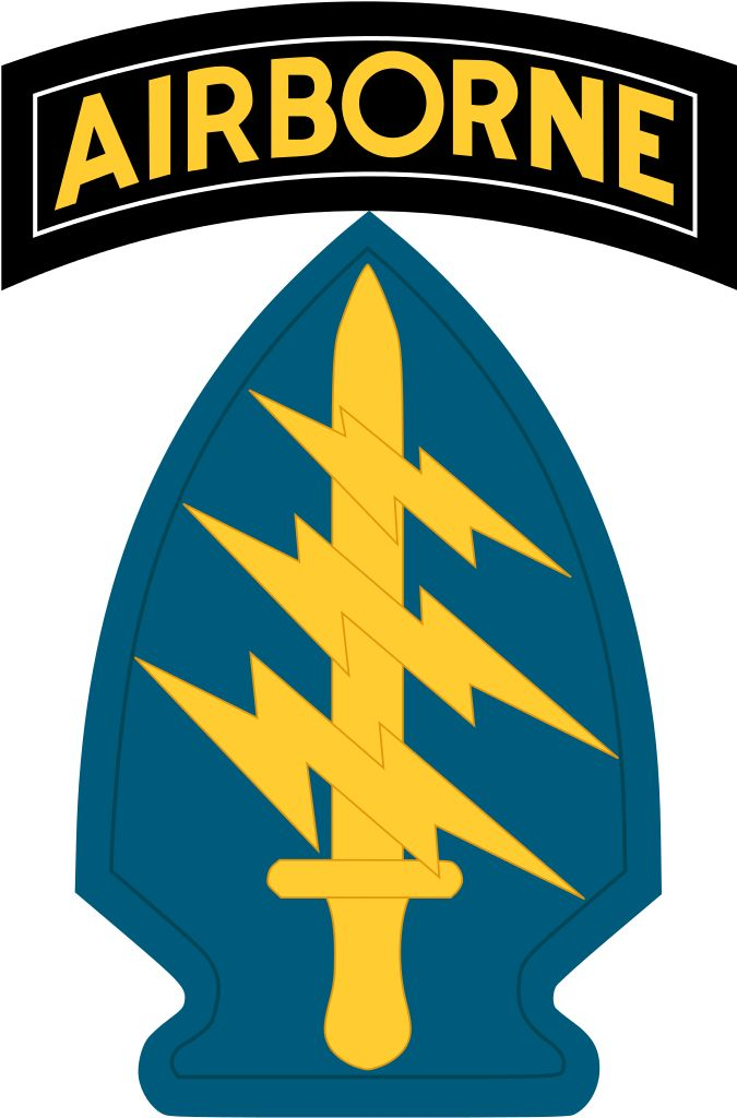 US Army Special Forces Shoulder Sleeve Insignia.svg