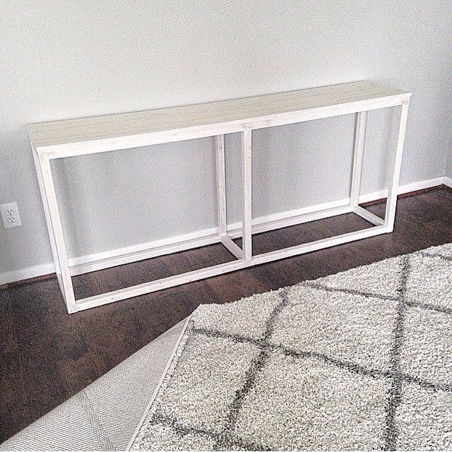 DIY Console Table By Julie Warnock Interiors