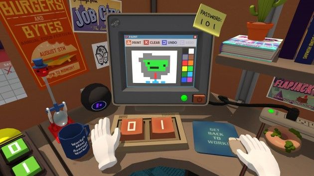 Job Simulator review – One of the best games to show off VR