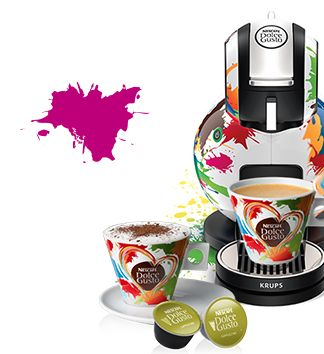 Dolce Gusto Melody meets Custo Barcelona!