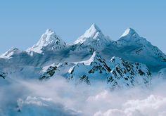 evian #alps #mountains