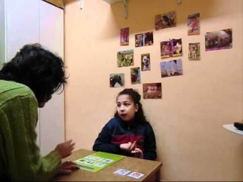 Síndrome de Rett Andrea y su carpeta de comunicación 1.wmv - YouTube