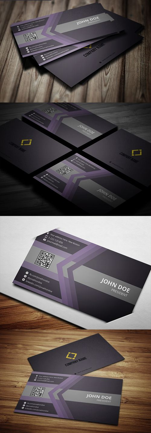 Professional Business Card With Ms Word Doc Cards Print Templates