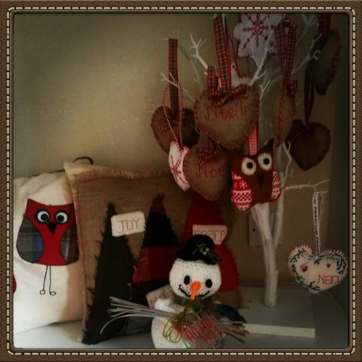 #craftyvintagechristmasweekender #owls #christmas #crafts