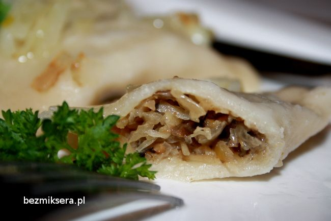 Rcipe for Christmas: Dumplings with cabbage and mushrooms
