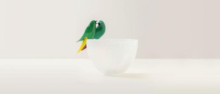 Matteo Thun Atelier, Artwork, Glass, Uccellini photo by Marco Bertolini #matteothunatelier #matteothun #handmade #handmadeinitaly #italiandesign #matteothun #artwork #uccellini #glass #venice #murano