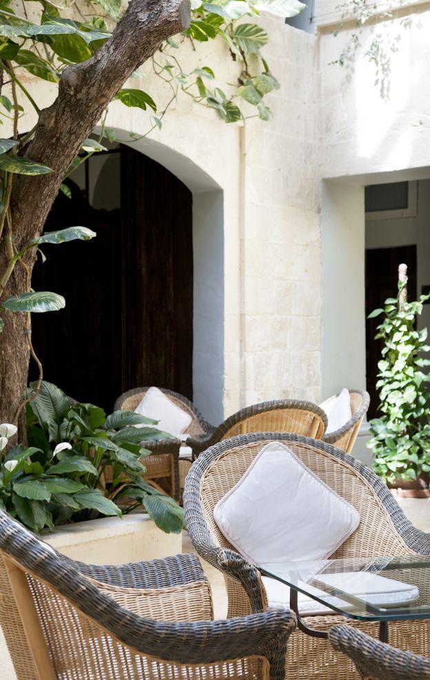 The Xara Palace Relais & Chateaux - Atrium #Malta #Luxury #Lifestyle