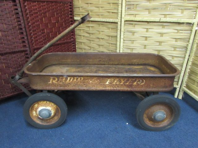 Vintage Radio Flyer Wagon For In