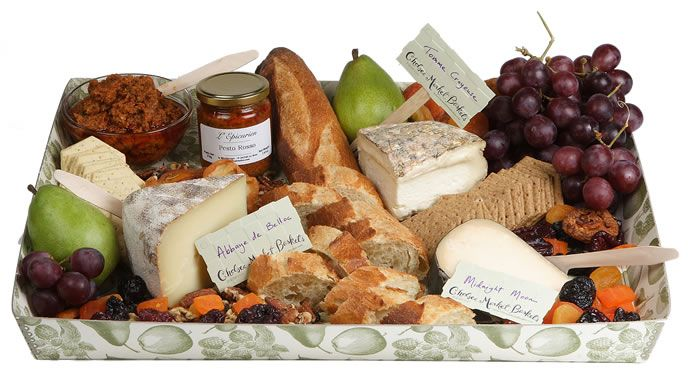 cheese platter. my husband would love this