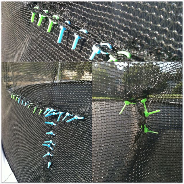 DIY Repair Your Trampoline. Did Some Research And Found