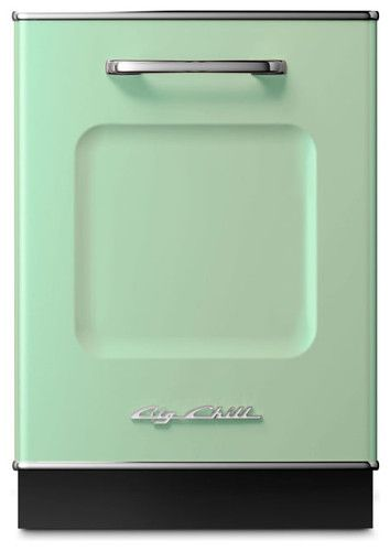 Retro Dishwasher - It's hard for me to get too excited about a dishwasher, but this retro-inspired number from Big Chill has me all sorts of giddy. It comes in eight colors, and despite the vintage look, includes the amenities of a modern unit.  By bigchillfridge.com