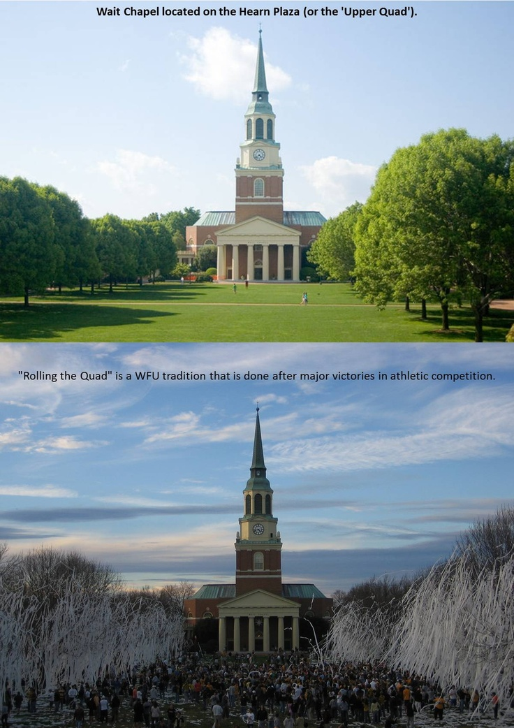 wake forest The latest tweets from wake forest university (@wakeforest) campus life and news from the official twitter account of wake forest university #wfu #wakewill instagram: wfuniversity.