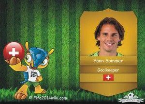 Yann Sommer - Switzerland Player - FIFA 2014