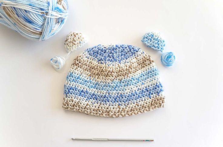103 best Gorros a crochet images on Pinterest | Crocheted hats ...