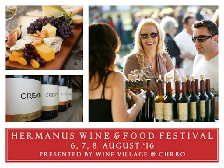 Hermanus Wine & Food Show 2016 Dates: 6, 7 & 8 August 2016 Times: 6th (11 - 8:00pm) 7th (11 - 5:00pm) 8th (11 - 5pm) Cost: R 50 p/p venue entrance / R100 p/p wine tasting Info: 028 316 3988 / winevillage@hermanus.co.za Address: 1 Curro Way, Curro School, Sandbaai Transport: Percy Tours and Transfers, Hermanus / 072 062 8500 Tickets: Available at the door or book with Computicket: http://online.computicket.com/…/hermanus_wine_fo…/1037764653
