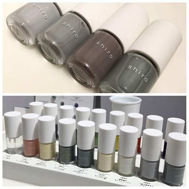 昨日に引き続き、shiroのメイクアップシリーズからネイルをご紹介。あれ?っと思った方もいるかもしれませんが、どのブランドにもあるであろうピンクがないんです。そのかわりに絶妙な配合バランスで生まれたグレイッシュなネイルがこんなに💅🏻 1度塗りで見たままに発色するカラーや塗る回数によって表情を変えるカラーたち。すべてにうるおいを与えるアマニ油や表面をなめらかに整えるシラスクレイ(火山灰)などを配合しています。 shiro 亜麻ネイル 全18色 ¥2400 2017年2月3日発売。 WEB担当・N  #shiro #nail #ネイル #亜麻ネイル #アマニ油 #自然素材 #ナチュラル #maquia #maquiaonline #マキア #マキアオンライン #beauty #follow