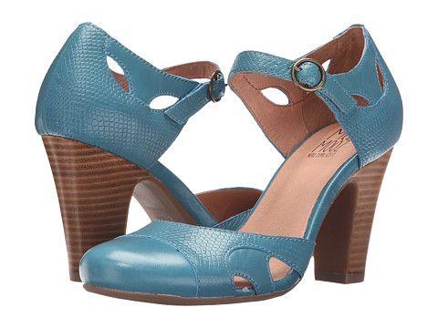 Miz Mooz Joanne Blue - Zappos.com Free Shipping BOTH Ways