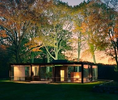 Philip Johnson's Glass House, New Canaan, CT - America's Coolest Houses | Travel + Leisure