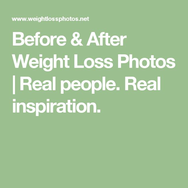 Before & After Weight Loss Photos | Real people. Real inspiration.
