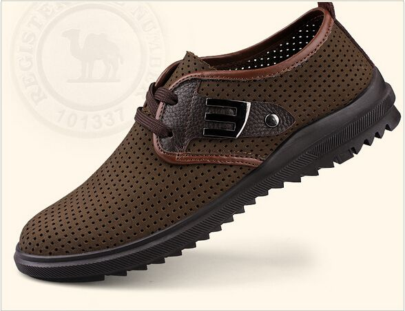 mens fashion driving shoes leather loafers
