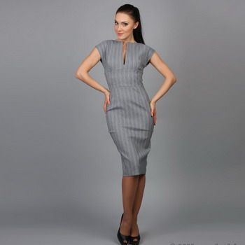 Как выбрать офисное платье?