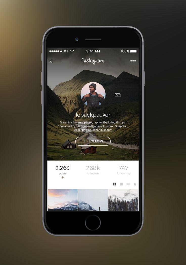 Instagram profile real