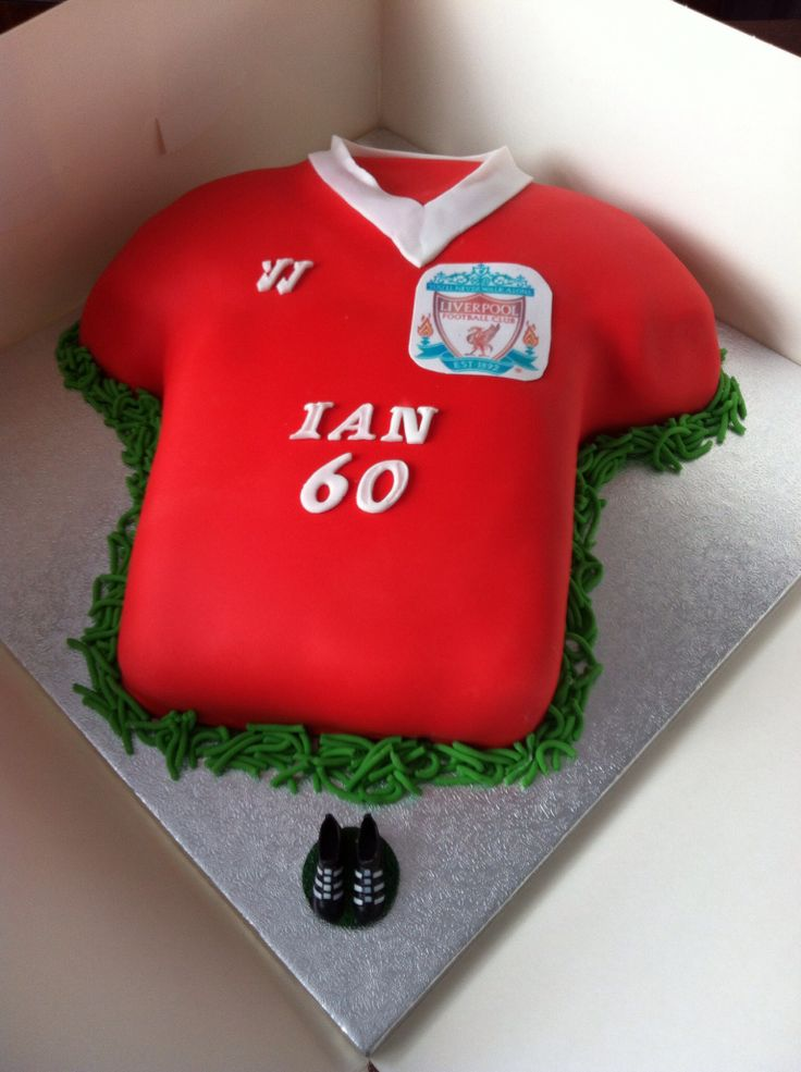 Cake Decorating Football Shirt : 36 best images about Liverpool on Pinterest Novelty ...