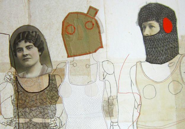 dessins-couture | Cecile PERRA plasticienne: cecile.perra@wanadoo.fr