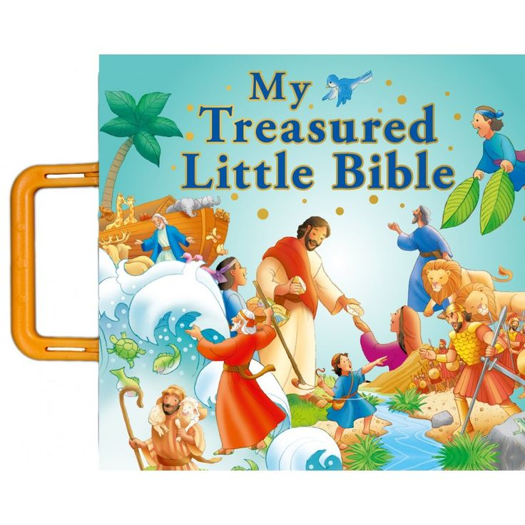 My Treasured Little Bible (Boardbook)