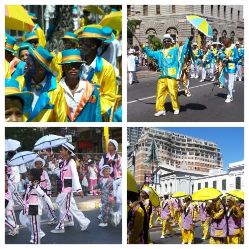 The Kaapse Klopse carnival in Cape Town from 13 Amazing Reasons to visit South Africa by Jo Castro #travelpinspiration