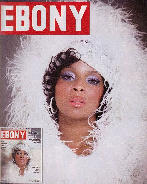 To celebrate its 65th anniversary issue and icons of the past, EBONY magazine chose current celebs to play them: Mary J. Blige as Diana Ross.