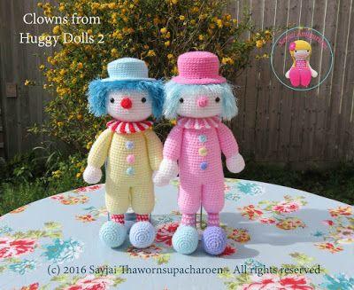 Amigurumi Forum Net : 94 best amigurumi clown images on pinterest amigurumi patterns