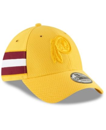 b9589e3cdf1 New Era Washington Redskins Official Color Rush 39THIRTY Stretch Fitted Cap  - Gold L XL